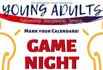 Young Adults Game Night